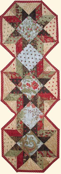 Table Runner - Moda Peace on Earth Fabric