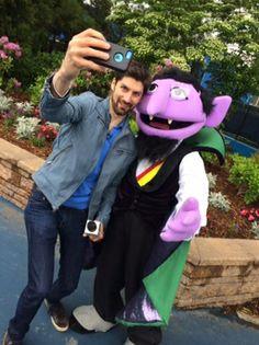 let ben take his selfie with - Ben Aaron