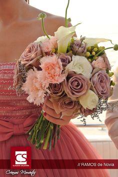 Ramo de novia http://www.claudiasaldana.com/
