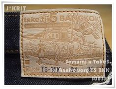 SAMURAI X TAKE5 BKK LIMITED JEANS