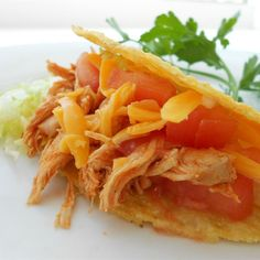 "Sarah's Easy Shredded Chicken Taco Filling I ""Definitely easy and no..."