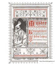 Gallery.ru / Фото #1 - 221 - Fleur55555 Album, Cross Stitch Charts, Monogram Letters, Vintage Books, Blackwork, Books Online, Embroidery Patterns, Needlework, Miniatures