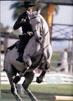 Pedro Torres,  Champion du Monde, d'équitation de travail