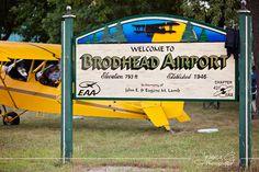 Pietenpol flyin at Broadhead #pietenpol #broadhead #flyin #airplane #wisconsin #discoverwi #travelwi
