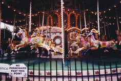 """Carousels will forever be my most favorite thing <3   Caroline was in Love with carousel horses when she was younger - I think they still have a """"hold"""" over her."""