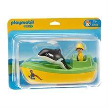 Playmobil Balina Ve Balıkçı Teknesi 6739