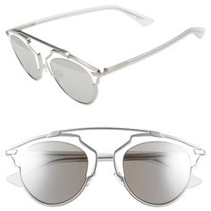 8d8abe04c615 Dior  So Real  48mm Sunglasses ( 620) ❤ liked on Polyvore featuring  accessories