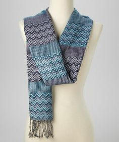 Another great find on  zulily! Black   Gray Geometric Ruana ... f882ffa4e0a98