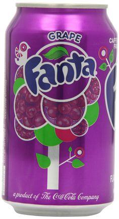 Grape Fanta Can