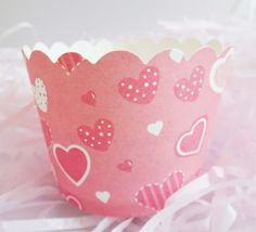 Will You be Mine Baking Cups for Cupcakes & Muffins  Will you be my Valentine? Cute red hearts paper baking cup for cupcakes and muffins! International shipping available. Visit site for more details!