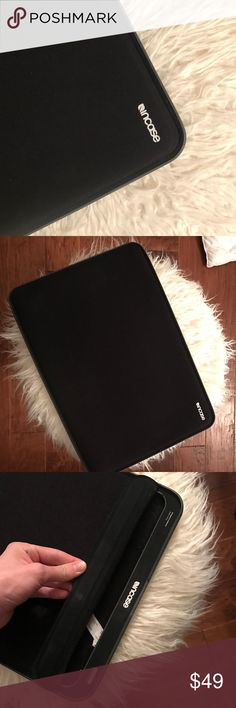 Mac Book Pro Retina 15in Sleeve Incase Sleeve for MacBook 15 inch! In great condition padded around the border makes it perfect for traveling. incase Accessories Tablet Cases