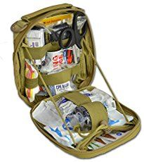 Build your First Aid Kit. Combat infantry use this, so should hunters.