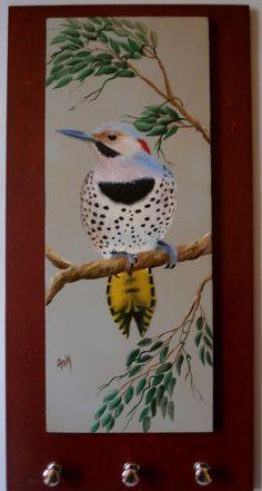 pássaro - pintura Andy (uma foto da internet)