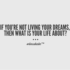 Do you work to live or live to work?? What's your life about??? Do you feel like you have the power to change or do you feel trapped!?