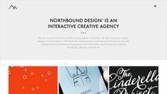 northbound design1 35 Nice Examples of Flat Web Design. Jquery. Animation.