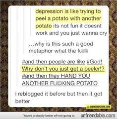 Goddamn potato... - - Public Displays of Fail - Unfriendable