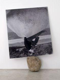 "Marlo Pascual. Untitled, 2011. Digital C-Print, rock.Print size: 53.5 x 60"" / 135.9 x 152.4cm."