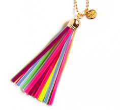 Safety reflector (Firefly Tassel Collection).