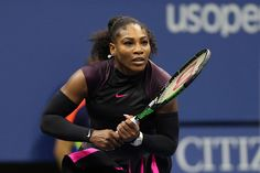 September 7, 2016 - Serena Williams in action against Simona Halep in a women's…