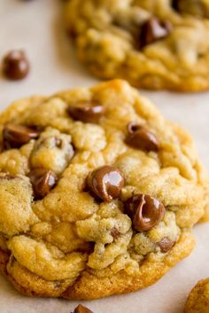 30 Minute Chewy Chocolate Chip Cookies from The Food Charlatan. This recipe gets you from zero to chewy cookies in less than 30 minutes with normal ingredients. They are soft in the middle, perfectly crisp on the edge, and have an ultra chewy center. There is a secret that is going to change your life; you are never going to look at warm cookies the same way again!#easy #best #chewy #chocolate #recipe #fromscratch #homemade #softest #cookie #Christmas #Tollhouse #perfect #gooey #simple #quick