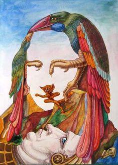 Victor Molev (1955-) - Mona lisa