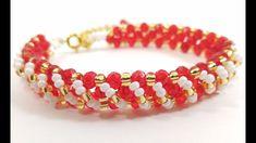 Браслет из Бисера и Ронделей Мастер Класс/ Tutorial: Bracelet from Beads...