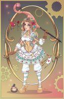 Steampunk Alice in Wonderland by NoFlutter