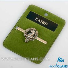 Baird Clan Crest Tie