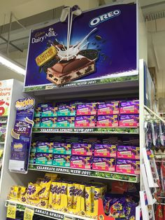 Cadbury Win up to $5000 worth of JOY Gondola Display