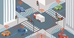 Itseohjautuvat autot pääosassa tulevaisuuden liikenteessä