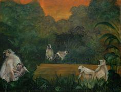 Brassai Gabi: Golden Age oik on canvas