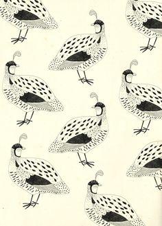 Ryn Frank's Pattern Illustrations Showcase Beauty in Simplicity