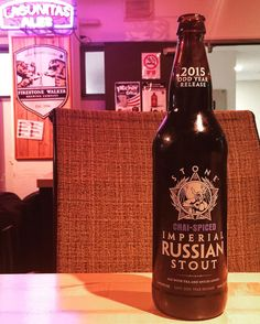 #stonebrewing #stout #imperialrussianstout #chai #sandiego #craftbeer #tea