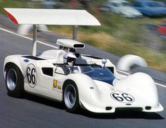 Jim Hall - Chaparral 2G Chevrolet - Chaparral Cars, Inc. - Monterey Grand Prix Laguna Seca - 1968 Canadian-American Challenge Cup, round 4