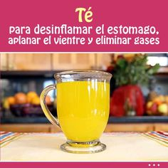 Té para desinflamar el estomago, aplanar el vientre y eliminar gases Health And Beauty Tips, Health Advice, Health And Wellness, Health Fitness, Healthy Habits, Healthy Tips, Healthy Recipes, Healthy Food, Detox Recipes