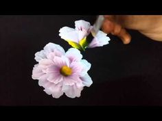 Acrylic painting flower | do it yourself | quick and easy painting - YouTube