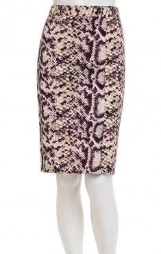 snake skin pencil skirt