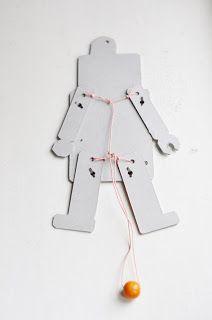 lilla a: Sprattel-robot