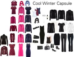 """Cool Winter Wardrobe"" by katestevens ❤ liked on Polyvore"