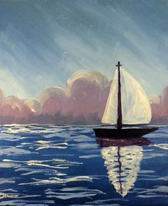 Sailboat *Paint Nite Nashvile* Buy tickets at www.paintnite.com