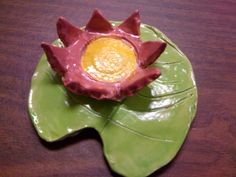 Clay lily pad (Monet)