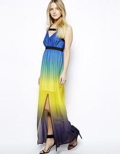 Jovonnista spot maxi dress