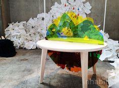 tell me, Johanna Larsson, table, storytelling, HDK, child culture design, milan design week