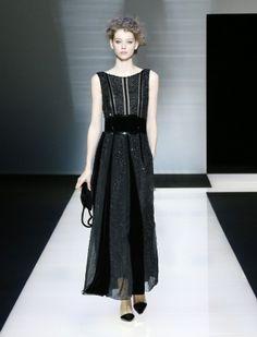 Giorgio Armani Online Store - Fashion Show