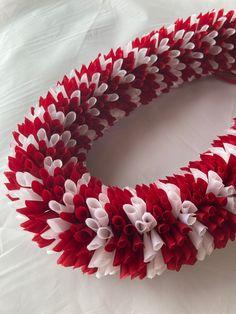 (Ribbo n Lei)Designed by Tracy Harada)Ui'mauamau 公認インストラクター レッスン、キット販売してます! Ribbon Lei, Candy Cane, Barley Sugar, Candy Canes