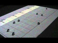 Tiny Swarming Robots Play Beethoven