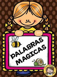 Dual Language Classroom, School Clipart, Behaviour Chart, Spanish Language Learning, Magic Words, Kindergarten Reading, Kind Words, Classroom Organization, Pre School