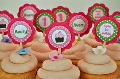 1st bday toppers