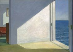 Edward Hopper Rooms by the sea art painting for sale; Shop your favorite Edward Hopper Rooms by the sea painting on canvas or frame at discount price. Edouard Hopper, Edward Hopper Paintings, Art Gallery, Truro, Sea Art, Magritte, Am Meer, Art Graphique, Painting Edges