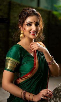 Beautiful Girl Indian, Beautiful Girl Image, Beautiful Saree, Beautiful Gorgeous, Most Beautiful Women, Marathi Saree, Beautiful Housewife, Nauvari Saree, Satin Saree